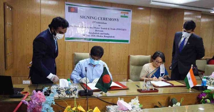 2nd Addendum on Protocol on Inland Water Transit, Trade signed