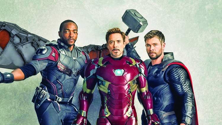 When Robert Downey Jr stood up for 'Avengers' cast