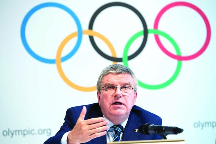2021 'last option' for Tokyo Olympics: Bach