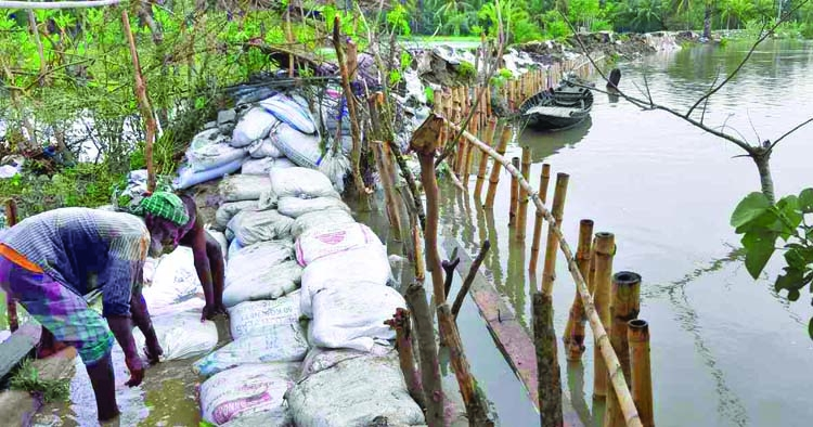 Embankments damaged in 13 coastal districts
