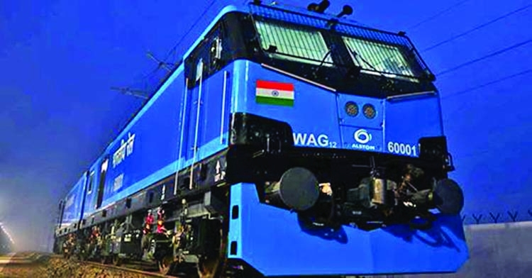 India makes 12,000 hp  electric locomotive
