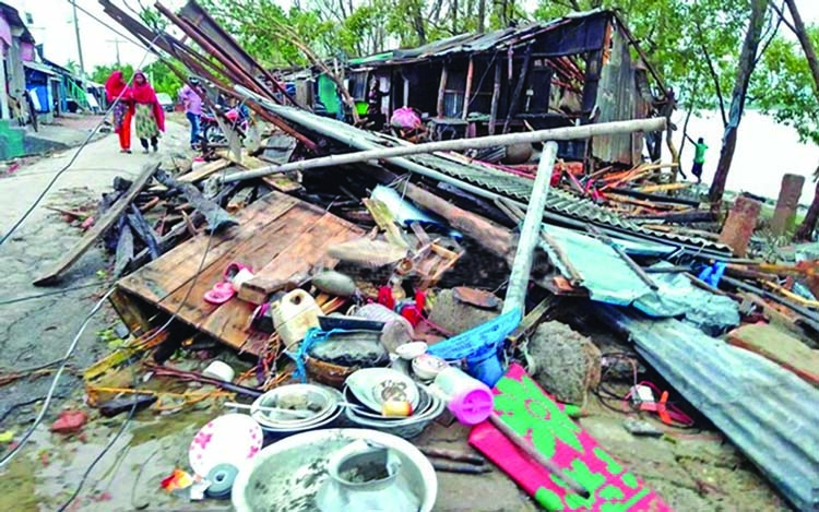 Cyclone Amphan causes damage worth Tk 11bn