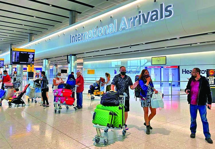 UK to introduce quarantine for int'l arrivals on June 8