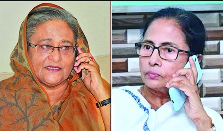 Hasina phones Mamata, asks about Amphan damage in WB