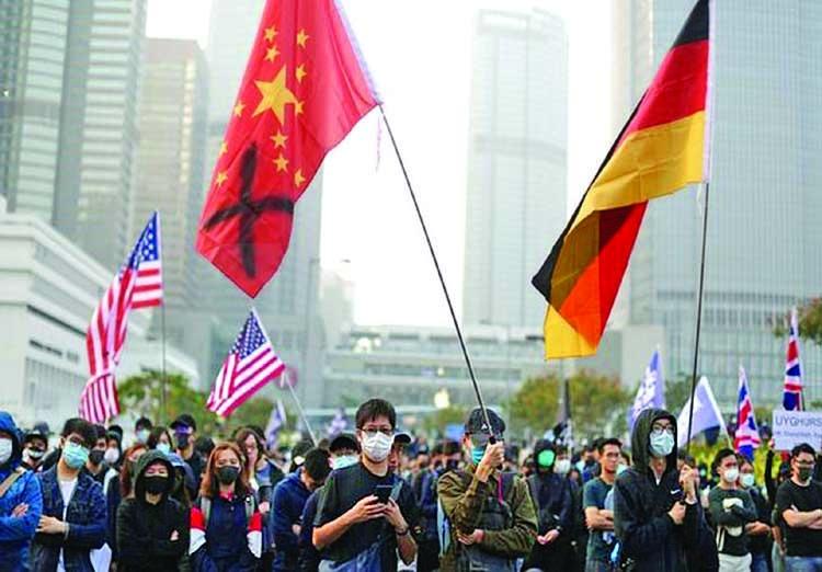 US, UK, Canada, Australia hit out at China