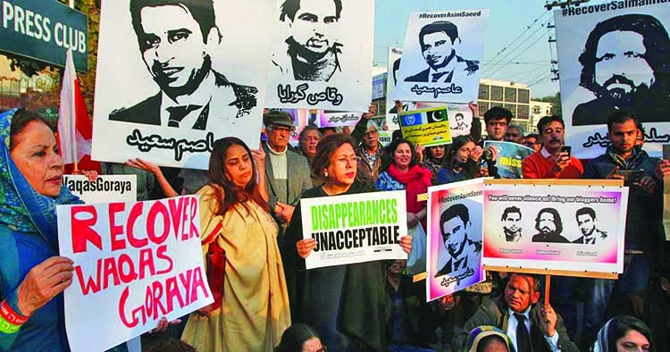 Enforced disappearances in Balochistan