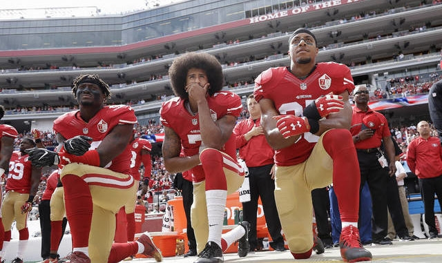 'We were wrong': NFL to allow players' protest