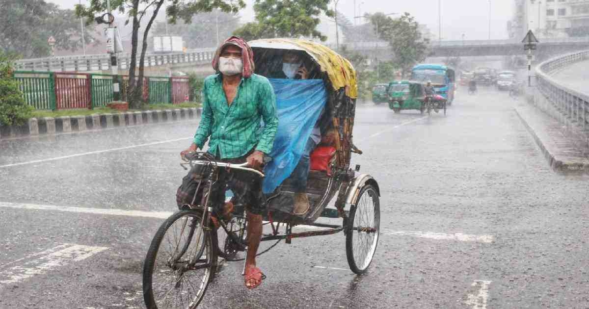 Met office forecast light to moderate rain across country