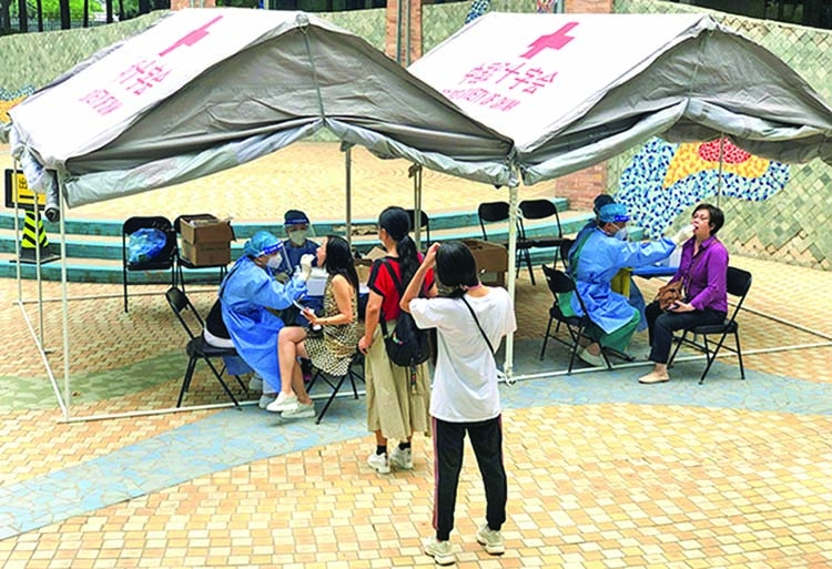 Beijing coronavirus testing  to enter 'fast track'