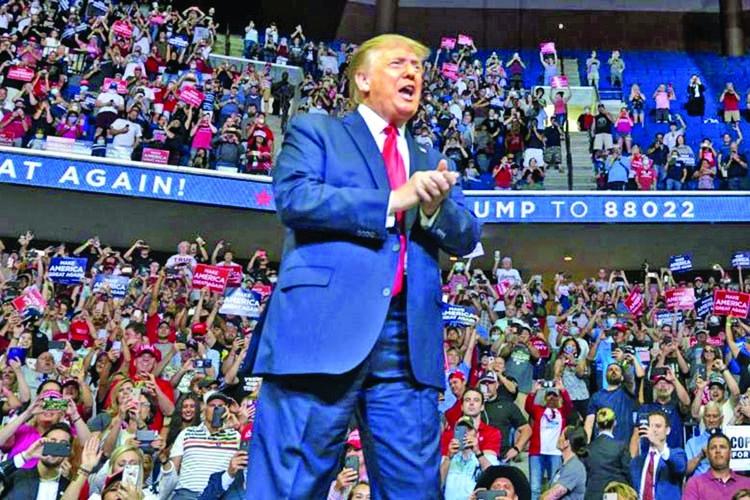 Trump looks to regroup in Arizona