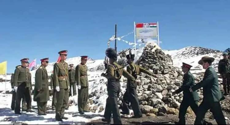 Chinese aggression on Indian borders