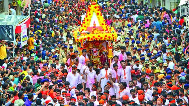 India allows religious festival on limited scales