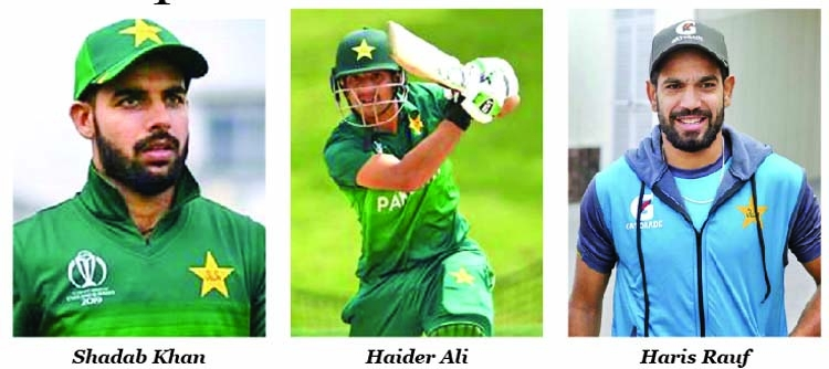 Three Pakistan cricketers test positive for COVID-19