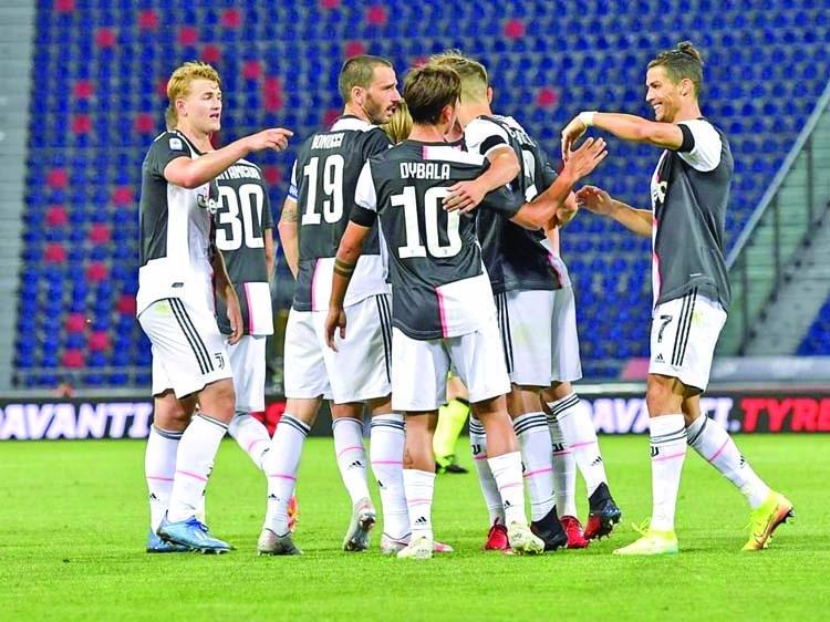 CR7, Dybala get Juve back winning on Serie A return