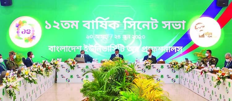 12th Annual Senate Meeting held at BUP