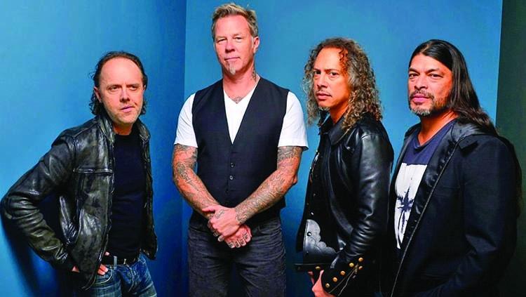 Metallica working on new music in quarantine