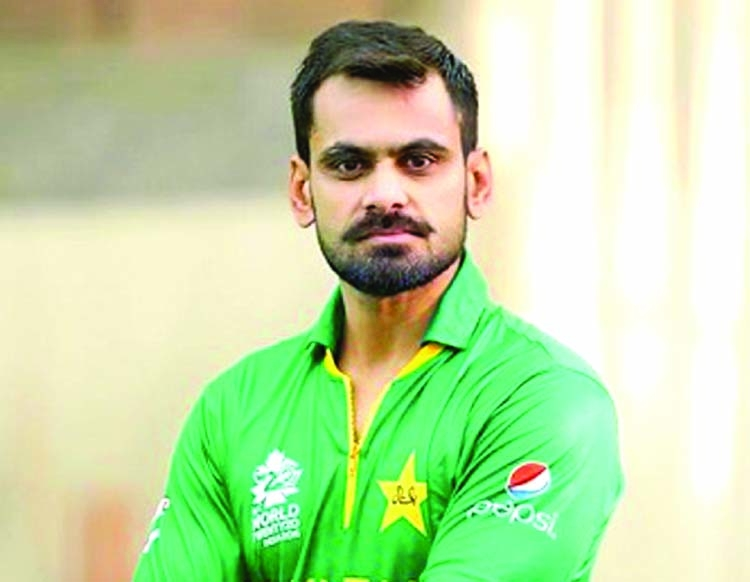 Hafeez says he's tested negative for COVID-19
