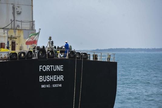 US sanctions five Iranian ship captains over Venezuela oil delivery
