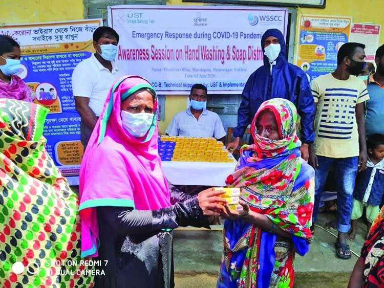 Covid-19: WSSCC Bangladesh for raising health awareness