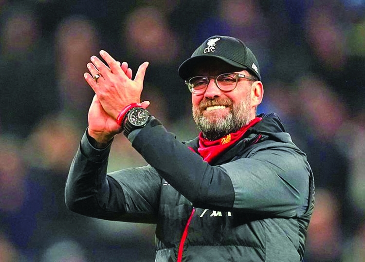 Klopp hails his champions elect after Palace thrashing