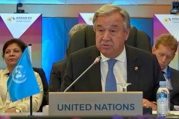 UN chief: COVID-19 signals need for global approach to problems