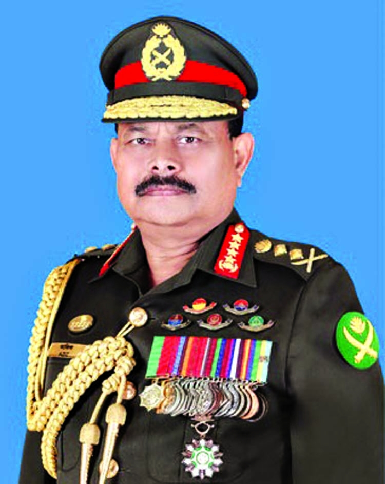 Army chief sees 'bids to mislead people'
