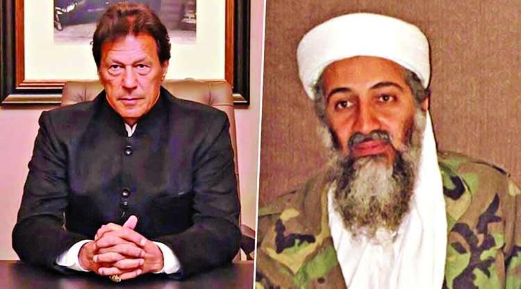 Imran rakes controversy, calls terrorist Laden 'martyr'