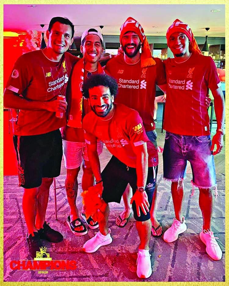 Reds break 30-year jinx, win first Premier League title