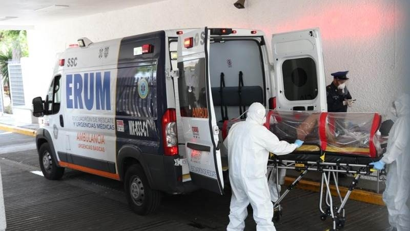 Mexico sees 719 Covid-19 deaths in 24 hours