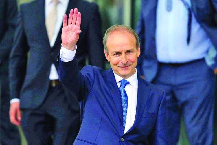 Martin named new Irish PM