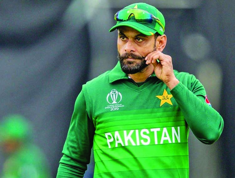 COVID-19 Mystery: Hafeez tests positive again