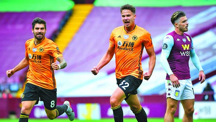 Dendoncker settles derby as Wolves win at Villa