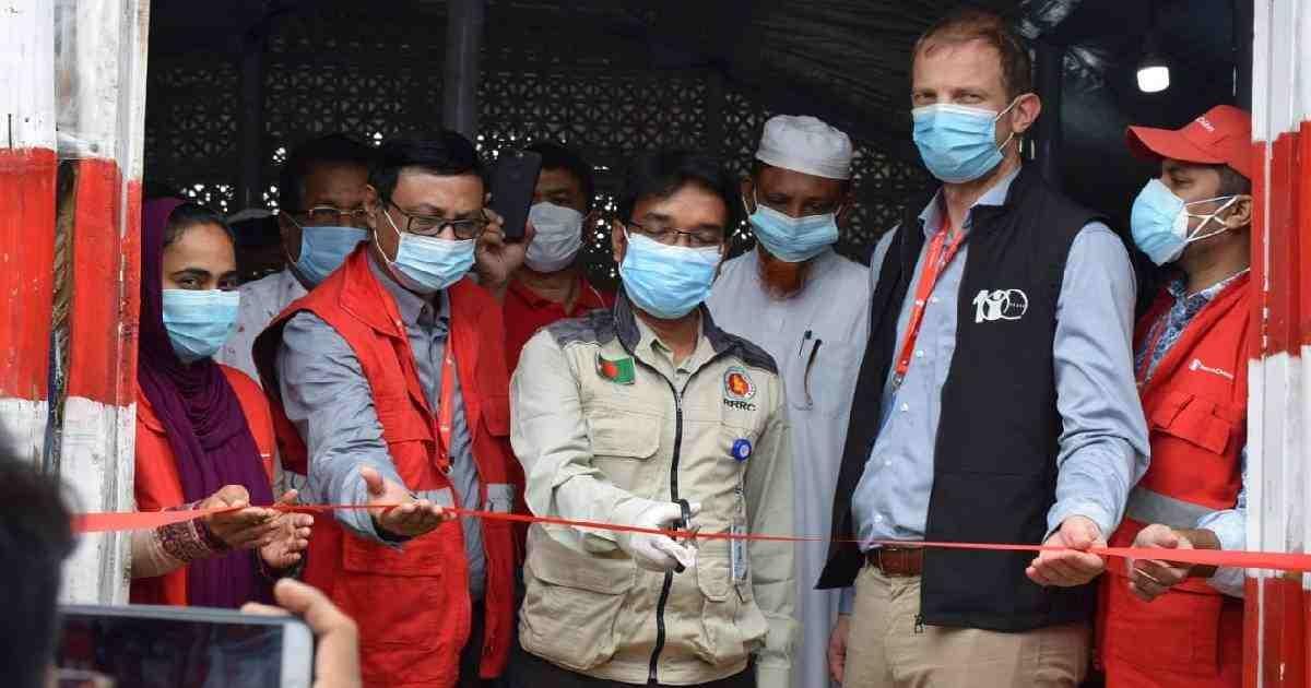 60-bed COVID-19 Treatment Centre set up in Teknaf