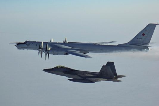 US intercepts Russian warplanes off Alaska