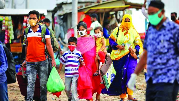 People with low-income leaving Dhaka