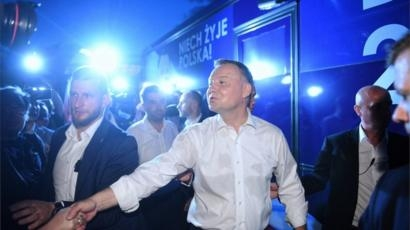 Poland election heads for second round - exit poll