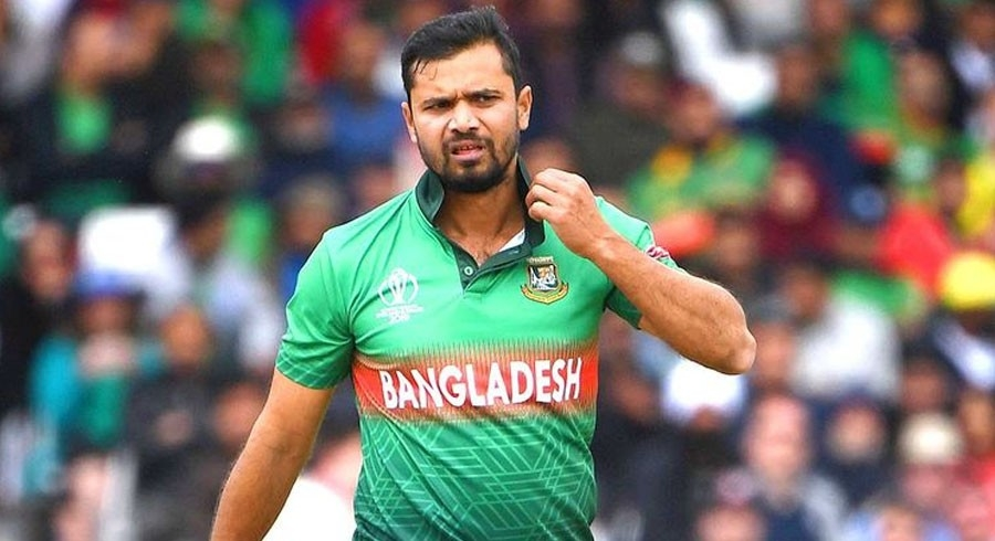 I'm well but not tested negative: Mashrafe