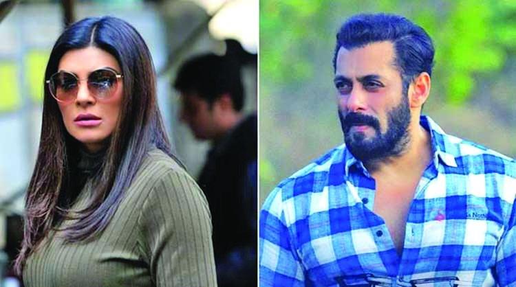 Salman welcomes back Sushmita