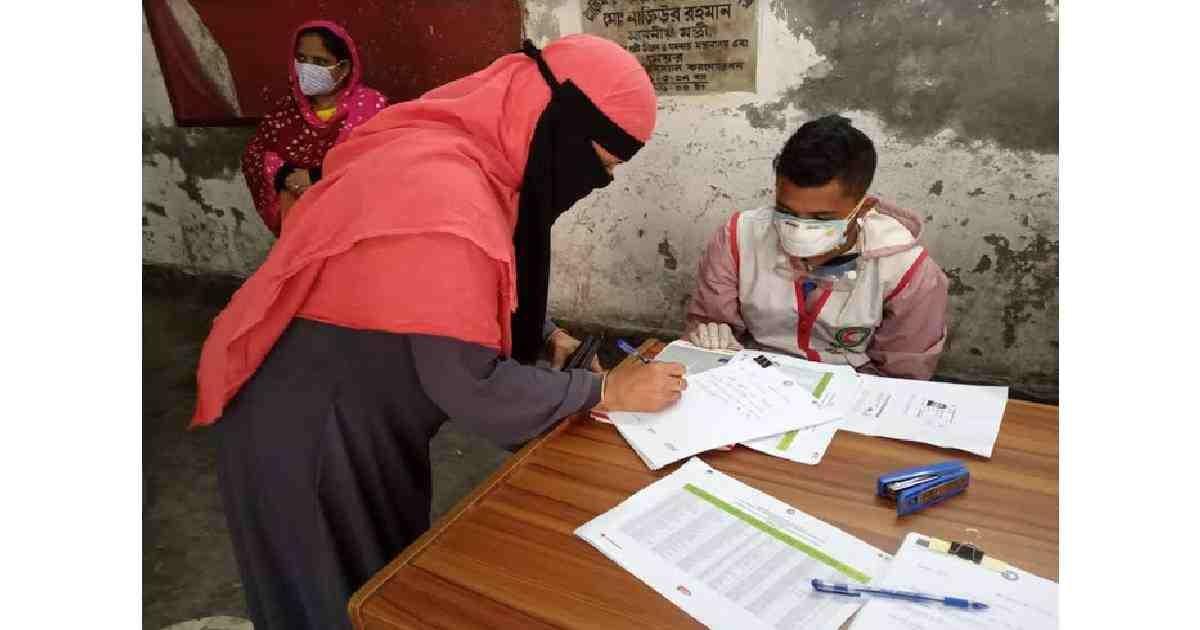 COVID-19: BDRCS supports urban poor