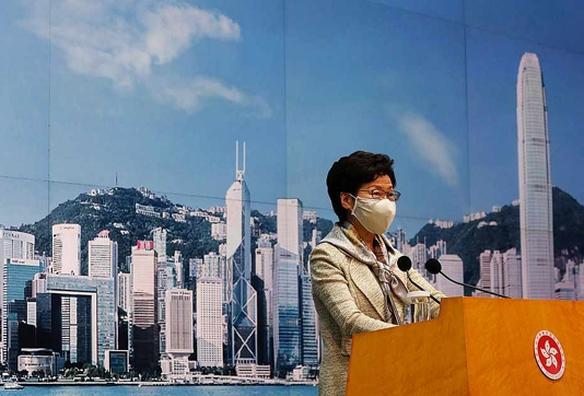Security law 'most important' development for Hong Kong since handover: leader
