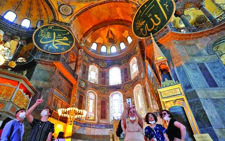 Hagia Sophia to host first prayers on Friday in 86 yrs