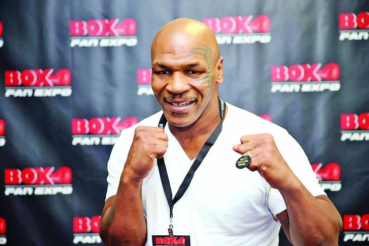 It's happening: Mike Tyson returns to ring