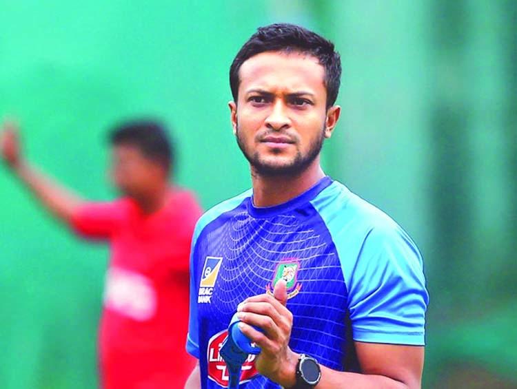 Shakib plans to begin individual training next month