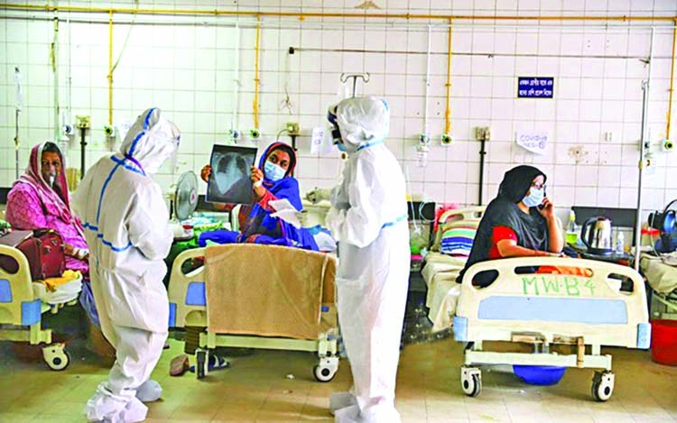 11,000 beds for COVID-19 patients empty