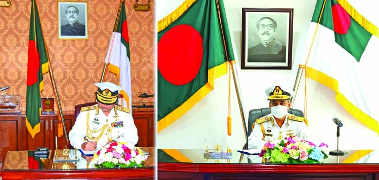 New Navy chief takes over charge