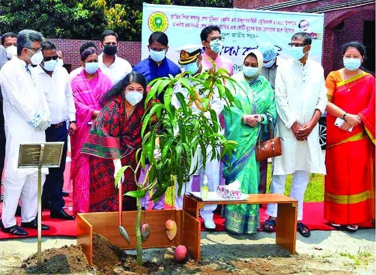 Speaker opens tree plantation drive on JS premises