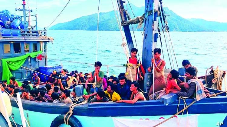 24 Rohingyas drown off Malaysian island