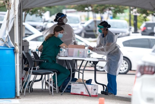 US adds over 55,000 cases in 24 hours: Johns Hopkins