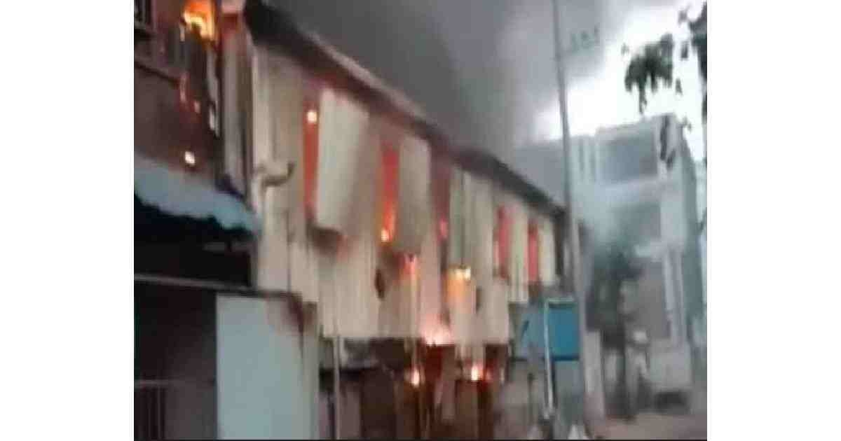 Fire at Chattogram chips factory