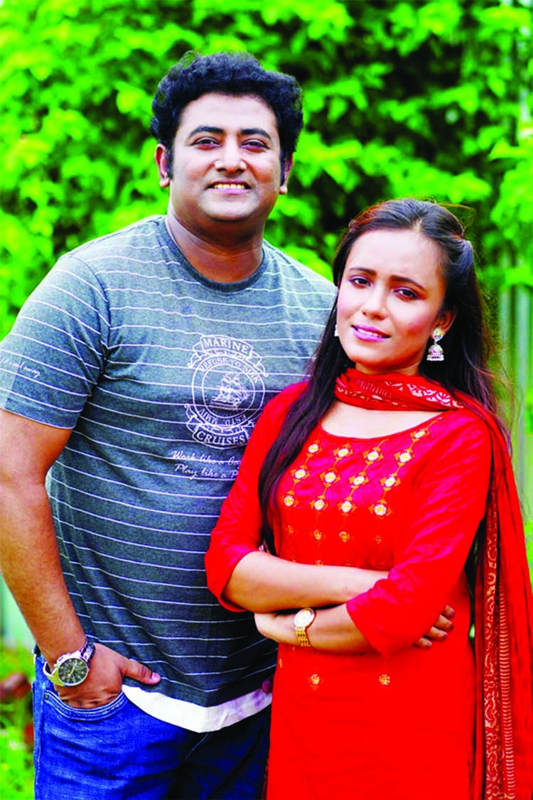 Yousuf lends vocal for a duet song with his fan Keya